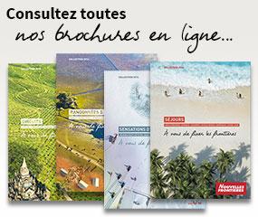 Consultez toutes nos brochures Nouvelles Frontières en ligne