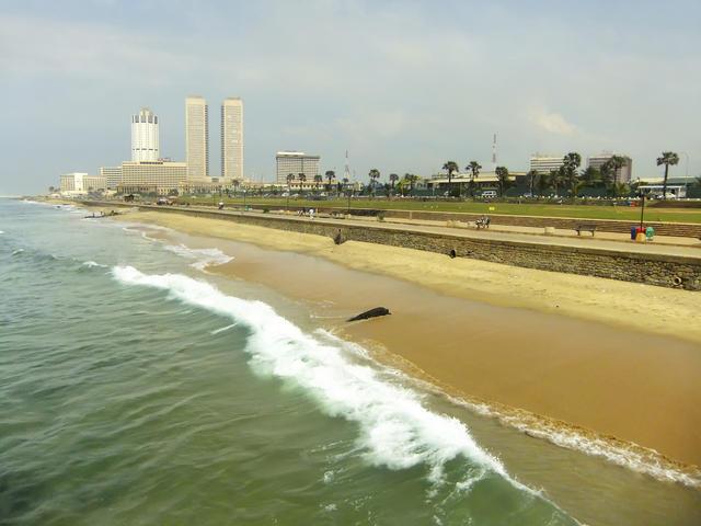Colombo - Galle Face Green - Nouvelles Frontières
